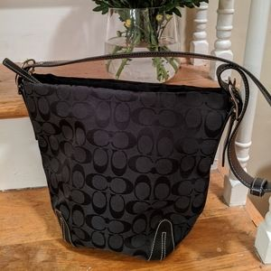 Coach Signature Bucket Bag